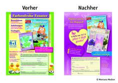 Vorher <-> Nachher: Neuentwicklung der #Abowerbung für die #Zeitschriften-Kombi Creativ-Idee+Papierideen: #Werbemittel: 1/1-Anzeige, Heftwerbung, #Angebot: #Kombi-Abo mit Preisvorteil, #Response-Aktivierung über #Coupon und Deeplink  I © Montana Medien, Hamburg - Dezember 2013 I Bestellen Sie das #Kombi-Abo unter: www.shop.oz-verlag.de/abol #Direktmarketing, #Print, #Verlage, #CRM, #OZ-Verlag, #Dialogmarketing, #Abomarketing, #Aboanzeige,  #Montana Medien BERATUNG + #AGENTUR