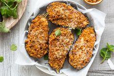 Eggplant Recipes, Fett, Salmon Burgers, Italian Recipes, Chicken, Ethnic Recipes, Prosciutto Cotto, Aglio, Instagram