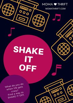 How do you handle a stressful day? We Shake It Off!