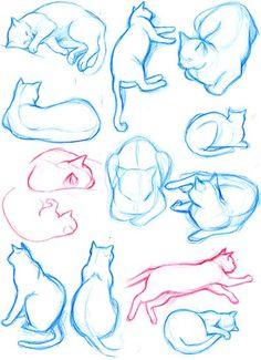 猫 スケッチ - Google 検索