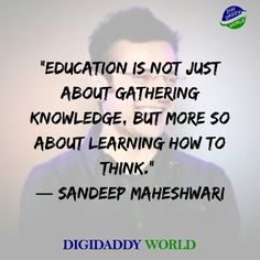 Sandeep Maheshwari Motivational Quotes and Wiki - DigiDaddy World Positive Attitude Quotes, Good Thoughts Quotes, Motivational Thoughts, Good Life Quotes, True Quotes, Words Quotes, Qoutes, Motivational Quotes, Study Hard Quotes