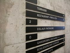 superbüro | Grafik Design Studio | Biel/Bienne | Work | wayfinding (Signaletik) | Tissot Arena (Stades de Bienne)