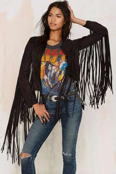 Shake Down Fringe Jacket - Festival Shop | Best Sellers | Moto + Leather