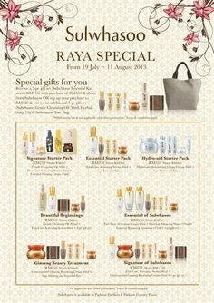 c10485bbee5 Sulwhasoo Raya Special @ Parkson Aug 2013 - 11 Aug - Malaysia Deal and Sales