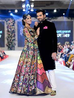 Showstopper at Nomi Ansari's fashion show. Seen at PFDC L'Oréal Paris Bridal Week 2015 #PFDC2015 #Frugal2Fab