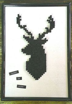 "DIY Kreative Julegaver ""Hjort er Hjort"" Bullshit, Diy And Crafts, Christmas Gifts, Ideas, Hama, Xmas Gifts, Christmas Presents, Thoughts"