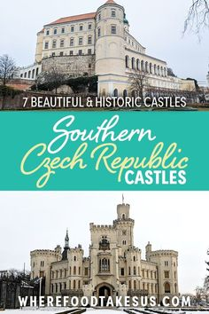 There are so many castles in the Czech Republic. Outside of Prague and Brno, so many casltes are waiting to be discovered. We list our favs in Czechia! Travel Around Europe, Cities In Europe, Europe Travel Guide, Travel Destinations, European Road Trip, European Travel, Travel Inspiration, Travel Ideas, Adventure Activities