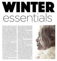 """what's your _winter_ essential? ❄"" by ellalidiar on Polyvore featuring art"