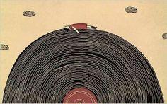 feels like heaven.  #vinyl #records http://www.pinterest.com/djspyder/edisons-medicine-vinyl-records/