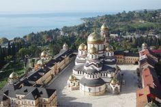 Храм Святого Апостола Симона Кананита в Новом Афоне, Абхазия
