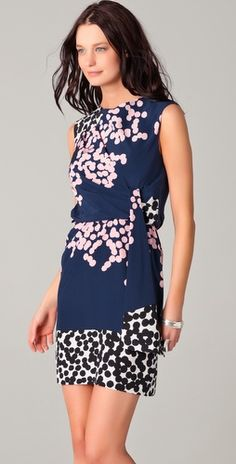 love this dress! {DVF Tamara}