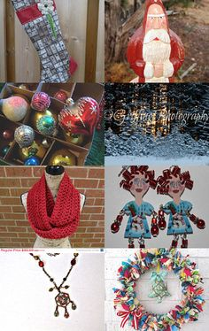 An Eclectic Christmas by Olga C--Pinned with TreasuryPin.com