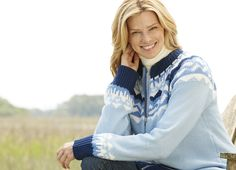 Fair Isle zip front sweater is a must-have layer #plussize #womanwithin