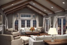 These innovative LEDs are ideal for lighting a space with a sloped ceiling.