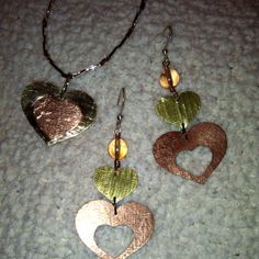 Handmade Jewelry by my friend Julie!  Love this~!