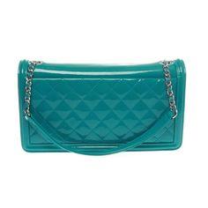 8bba7bd7cf20 Chanel Structured Shoulder Bag - Iridescent Plexiglass Lego Boy Brick Flap  Bag Plexiglass
