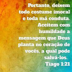 Tiago 1:21