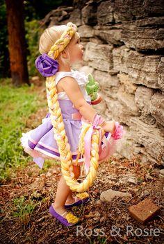 Rapunzel Inspired Dress Up Hair Braid by rossandrosiedesigns, $58.00 I gotta make one for me!