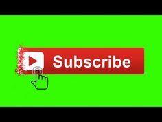 Top Green Screen Subscribe Button Original Youtube Gambar Bergerak Gerak Desain Logo