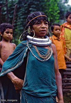 Gadaba #3 | Gadaba woman wear enormous brass hoop earrings a… | Flickr