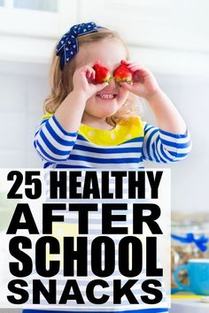 If you're looking for new and exciting kids snacks that don't involve chocolate, chips, or ice cream, this collection of 25 HEALTHY after school snacks for kids has lots of fabulous options. We particularly love the Banana Sushi and Grilled Cheese Roll Ups - they're delicious and so easy to make!