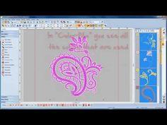BERNINA Embroidery Software 7: getting started / how to edit an existing design - YouTube