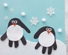 Basteln mit Kindern und Kleinkindern im Winter * Mission Mom Crafts in the winter time Winter time is . time together, cosiness in the warm room, security, building a snowman, baking Christmas cooki Kids Crafts, Winter Crafts For Kids, Winter Kids, Winter Art, Christmas Crafts For Kids, Winter Theme, Baby Crafts, Toddler Crafts, Simple Christmas