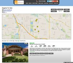 (Search: Results page view map view) Now you can go from searching, to finding. The stress is over. Introducing the DenverRealEstateFirm.com. No more complicated searches. No more computers guessing how you want to live. Now you can browse properties based on precisely what you want. And then dive into as much information as you need to make smart decisions. We will teach and show you how to search for your home like a pro. Think of it as a find engine, not a search engine.