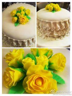 father's day mini cake