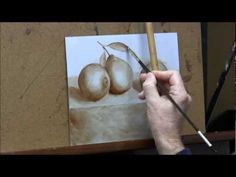 Oranges1- Sketch & Underpainting - YouTube