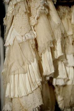 tattered lace etc...