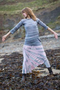 Joan Murray - textiles  Seashell dress
