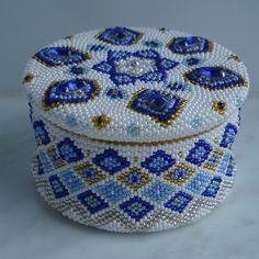 Шкатулка 5 | biser.info - всё о бисере и бисерном творчестве