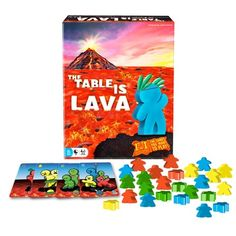 The Table is Lava Puzzle Store, Lava, Sports Toys, Table Games, Best Games, Online Games, Games For Kids, Puzzles, Nativity