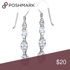 .925 Sterling Silver and Cz Stone Earrings Made in Thailand. Brand new without Tags. Gift box available. 🎁 Bundle for discounts! Reasonable offers considered. Thank you for shopping my closet! Jewelry Earrings