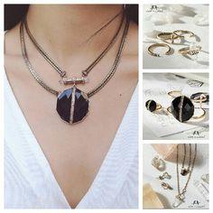 #atlascollection #love #jewelry #blackgoeswitheverything #fashion #chloeandisabel anitabeganovic.chloeandisabel.com