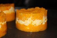Hachis parmentier patate douce carottes et poulet
