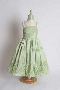 outlet online separation shoes separation shoes 97 Best Green flower girl dresses images   Green flower girl ...
