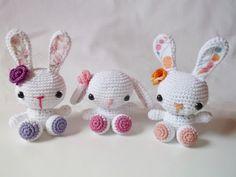 Category: Amigurumi - Horgolás by Blanch Balerina, Crochet Bunny, Home Crafts, Hello Kitty, Pictures, Amigurumi Minta, Character, Bunnies, Decor