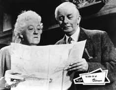 Margaret Rutherford, Stringer Davis - my first introduction to the dear Miss Marple.  A very strong impression that took hold.