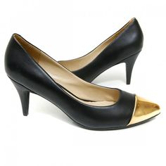 The Charlotte    High fashion with a heel you can walk in! These versatile pumps come in 3 color combinations.