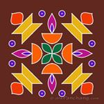 This page provides Dot Rangoli Designs and Patterns for Hindu festivals. In Tamil Nadu Rangoli is known as Kolam, Mandana in Rajasthan, Chowk Purna in Northern India, Alpana in West Bengal, Aripana in Bihar and Muggu in Andhra Pradesh. Indian Rangoli Designs, Small Rangoli Design, Rangoli Designs With Dots, Rangoli Designs Images, Rangoli With Dots, Beautiful Rangoli Designs, Simple Rangoli, Mehndi Designs, Dot Rangoli