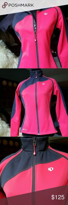 Pearl Izumi for Women Cycling Jacket Convertible jacket. Elite series. Sleeves zip off. Back pocket has compartments.  Like new condition. Pearl Izumi Jackets & Coats