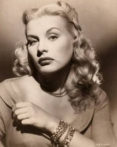 """Barbara Payton, born Barbara Lee Redfield on 11/16/27 in Cloquet, MN. Died on 5/8/67 of heart and liver failure. An Actress from 1949 to 1955. She gained notice in the 1949 film """"Trapped"""" co-starring Lloyd Bridges. She is best remembered for her stormy social life and battles with alcohol and drugs. She ended up being forced to sleep on bus benches and suffered regular beatings as a prostitute. Her life has been the subject of several books. She was married four times with one child!"""