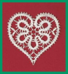 Discover recipes, home ideas, style inspiration and other ideas to try. Crochet Purse Patterns, Bobbin Lace Patterns, Macrame Patterns, Hairpin Lace Crochet, Crochet Motif, Bruges Lace, Lacemaking, Lace Heart, Point Lace