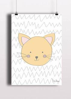 Poster p/ Bebê Cat - Suh Riediger TO8248