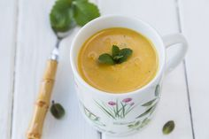 Thai Roasted Sweet Potato Soup