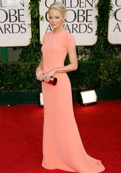 Iconic red carpet dresses Emma Stone Golden Globes 2011