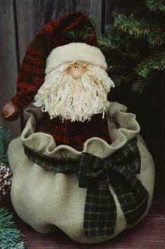 Who bagged Santa pattern