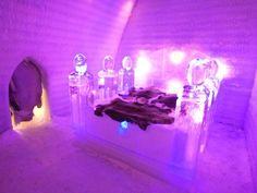 aurora ice museum, ice hotel, chena hot springs, alaska